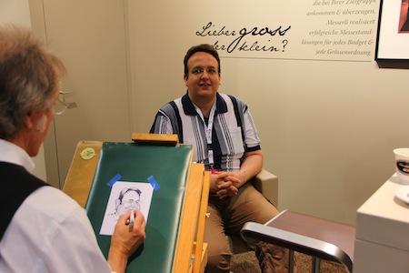 Eric-Oliver Mächler v/o Annubis auf der SuisseEMEX 2011 in Zürich