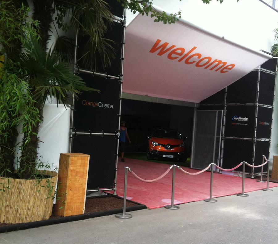OrangeCinema 2013 - Eröffnung in Zürich 18.7.2013