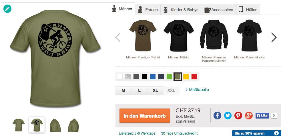 So macht man billig PR - Beispiel Spreadshirt