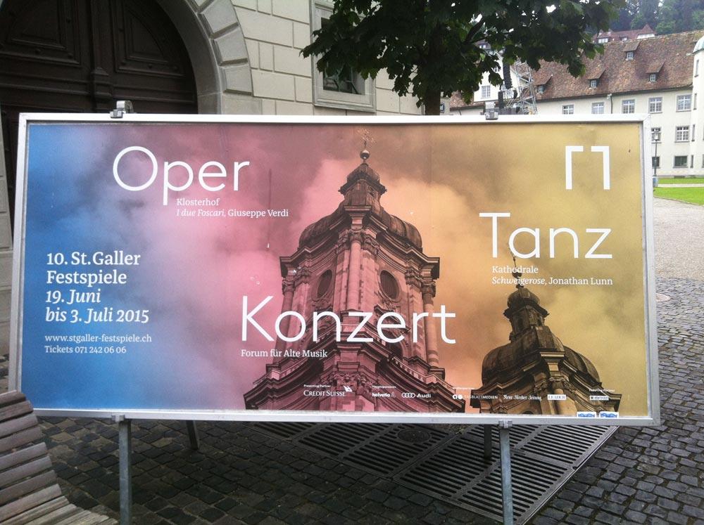 St. Galler Festspiele 2015