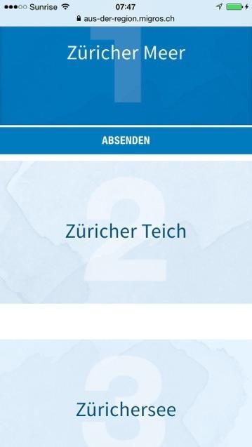 Die Migros und der WerbeFail Zürichersee - Wenn Werbung im Ausland gemacht wird.