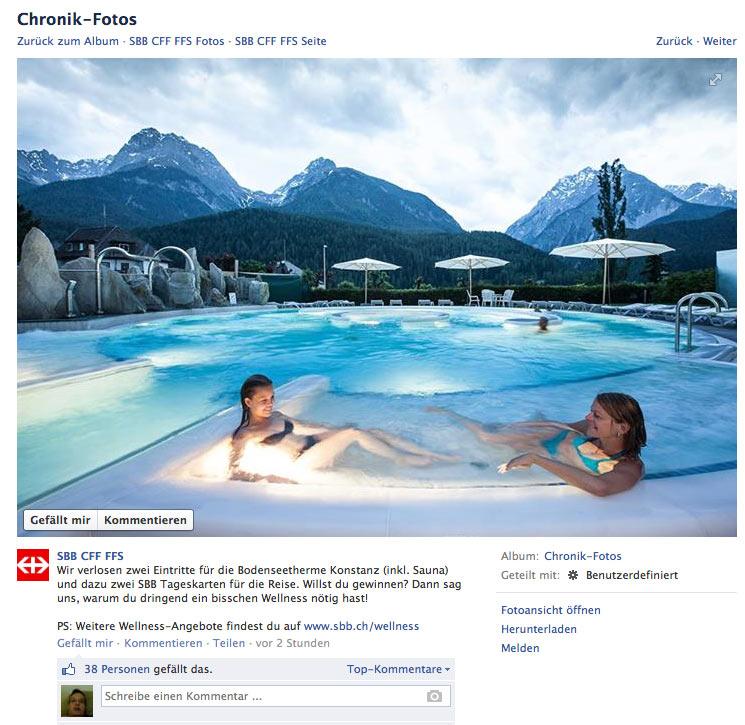 Wie die #SBB sich selbst aus dem Facebook Universum abschiesst