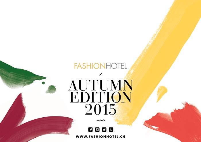 Als Fashionblogger getarnt beim Fashionhotel 2015 in Zürich