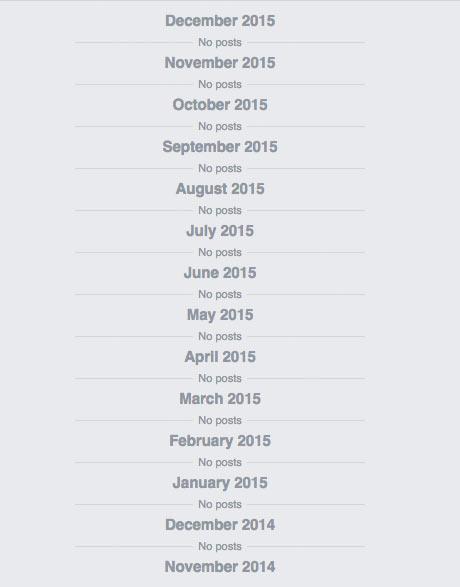 facebook-leere-timeline