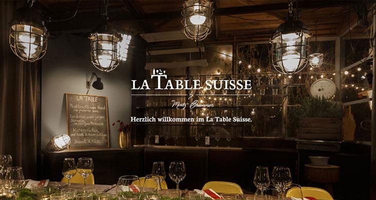Es waren halt doch wieder diese Dütschen – La Table Suisse