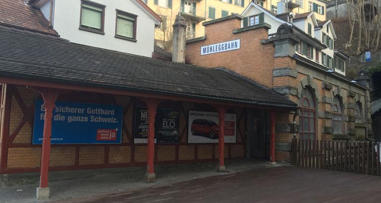 Mühleggbahn St.Gallen Wann läuft die Renovation Tunnelsanierung?