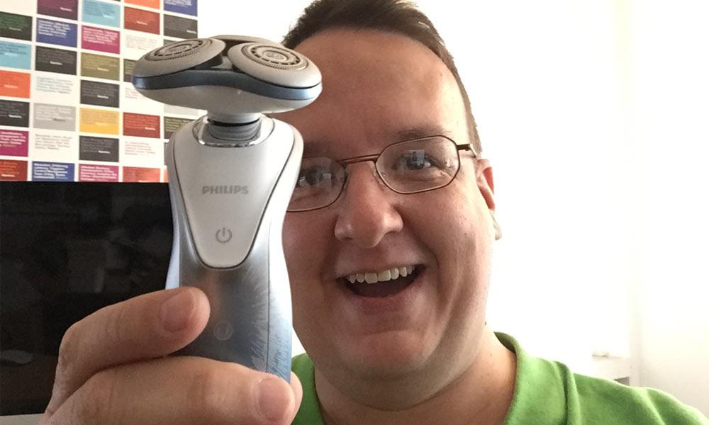 Der Beautyblogger testet den Star Wars Rasierer SW7700 von Philips