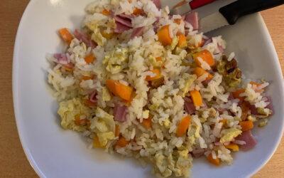 Gebratener Reis / Egg Fried Rice
